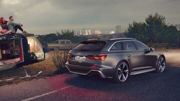 Audi RS 6 Avant Rear Couple - Audi Australia